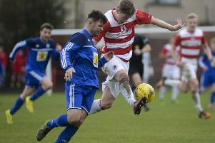 Bonnyrigg Rose beat Rob Roy in last season's Scottish Junior Cup quarter-finals
