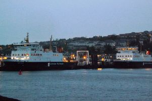 MVs Argyle and Bute at Rothesay pier