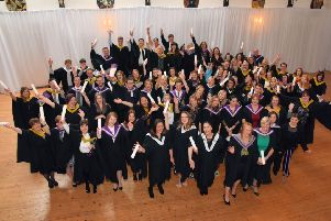 The Argyll College graduation which took place on the 28th of September.
