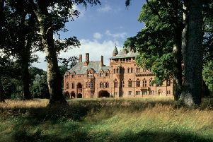 Mount Stuart house and grounds, which will play host to a series of visual arts exhibitions this year.
