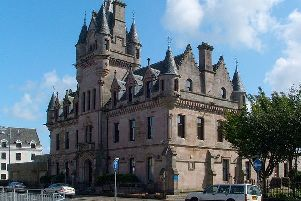 Greenock Sheriff Court.