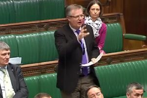 Brendan O'Hara in the House of Commons