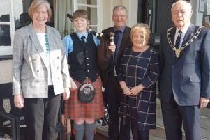 Highlands and Islands Music and Islands Festival Civic Reception with Len Scoullar.