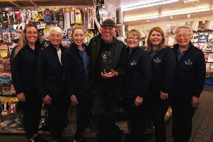 "Bute Tools, Montague Street, have won the prestigious DIY Week ""Team of he Year"" Award. Photo by Iain Cochrane."