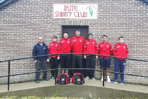 Bute Shinty Club were one of the recipients.
