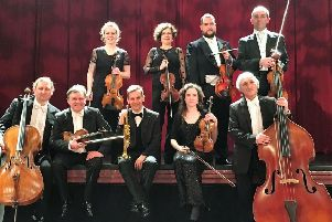 Touring group from the Kammerphilharmonie Europa will play in New Lanark this Saturday.