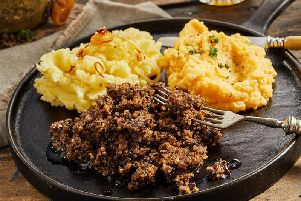 Traditional haggis is banned in the United States