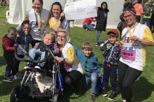 Underbank mums run for CHAS May 2019