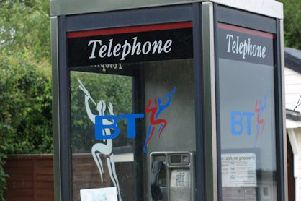 A Lanark phone box; a dying breed?