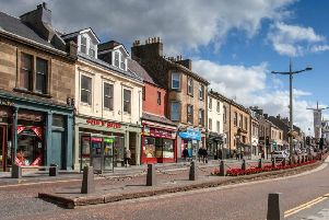 Lanark High St Aug 2019