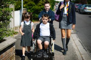 Disabled kids in mainstream schooling. (Generic) Aug 2019