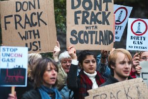 No fracking will take place in Scotland say the Scottish Government.