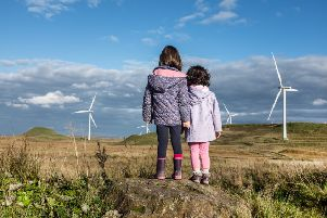 Auchrobert windfarm is looking for new investors.