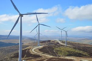 Clyde wind farm is generating funds for local communities