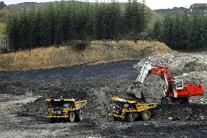 A general view of Mainshill Wood , the site of an open-cast mine  Callum Bennetts/PA Wire