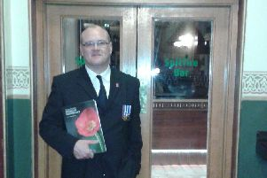 It was his dad Ross who first inspired Adrian Hunt to volunteer with Poppyscotland. He has been overseeing the Poppy Appeal in Braidwood and the Clyde Valley for 15 years and it's something he very much looks forward to.