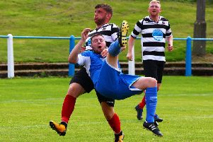 Cammy Lawson scored Lanarks opener in the thumping 6-1 win at Glasgow Perthshire on Saturday (Library pic)