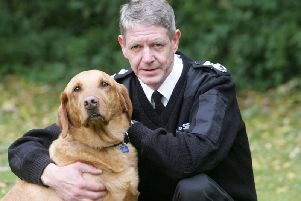 Scottish SPCA chief superintendent Mike Flynn