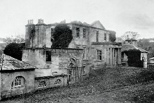 The now long-gone Bonnington House, once at the heart of the threatened parkland