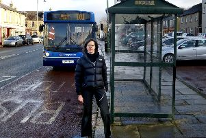 guarded welcome for Stagecoach's measures from Janet Moxley in Biggar