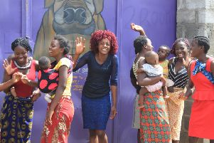 A hand up, not a hand out...for the young mums of Kanyama who are given support to make the most of their lives by the Journeying Together project.