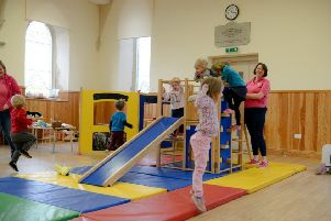 Happy days are here agin at Lanark's St Nicholas Playgroup