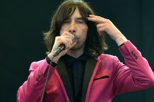 Primal Scream frontman Bobby Gillespie.