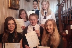 The students who passed their ABRSM exams.