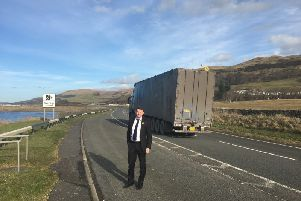 Conservative MSP Brian Whittle is pushing for  the Scottish Government to take seriously the need for the A77 to be upgraded.