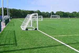 A new all-weather pitch at Girvan is among the council's capital spending plans.
