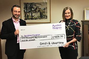 Make A Will makes all the difference for Ayrshire Hospice