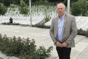 South Ayrshire resident learns more about the Bosnian Serb Forces massacre