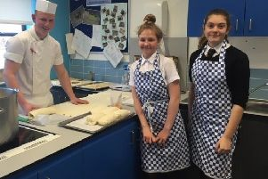 Turnberry gives Girvan Academy pupils taste of culinary industry with pop up restaurant