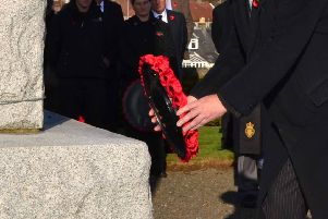 South Ayrshire will fall silent to honour war dead