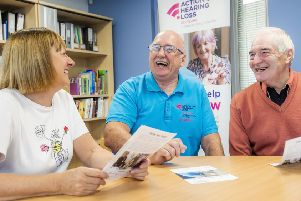 Action on hearing loss''' are looking for residents in Girvan to volunteer. (Photo:  Alan Peebles)
