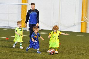 Soccer fun for kids at leisure centres