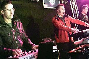 The Time Frequency (left) will headline the main stage