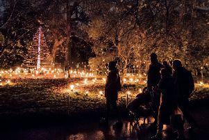 Families will be mesmerised by the hypnotic beauty of a flickering, scented Fire Garden
