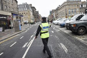 Parking attendents like the ones being introduced in North Lanarkshire have been a common sight on the streets on Edinburgh for some time