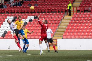 Clyde defeated Saturday's opponents Cowdenbeath on the opening day of the season (pic: Alastair Hendrie)
