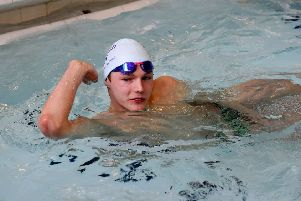 Duncan Scott will be visiting Cumbernauld and is hoping to meet his match in the pool at the Tryst Sports Centre