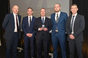 Team of the Year at the Scottish Policing Excellence Awards was presented to Operation Performance, Lanarkshire Division.