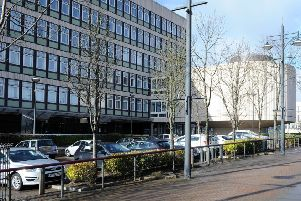 Motherwell Civic Centre could be one of just six council offices to remain open