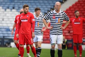 David Goodwillie returns to the Clyde squad after injury (pic by Craig Black Photography)