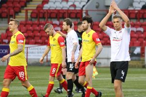 Clyde have lost the points they gained from beating Albion Rovers in February (pic by Craig Black Photography)