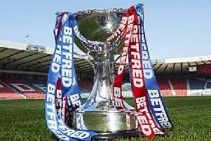 Will Danny Lennon be re-united with the trophy? It'd be an even bigger surprise than the last two times he's landed it!