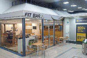 Fit Bar has opened in Cumbernauld Shopping Centre