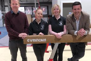 Jamie Hepburn MSP and Stuart McDonald MP were impressed by the work of Cumbernauld Gymnastics Club during a recent visit.