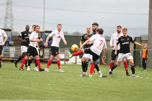 Clyde just couldn't find a way through the Montrose defence (pic: Craig Black Photography)