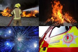 Bonfire Night is the busiest night of the year for the Scottish Fire and Rescue Service.